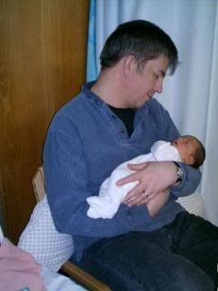 James and baby Adam Daniel