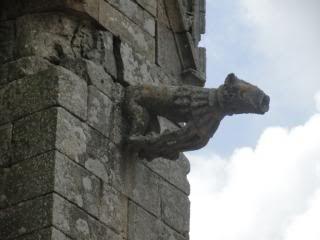 gargoyle on an old church