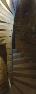 stone spiral staircase