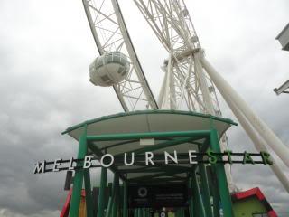 Melbourne observation wheel
