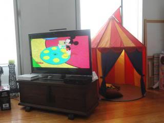 photo Disney cartoon and play tent