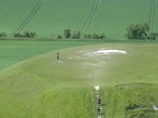 Oxfordshire, Uffington White Horse site