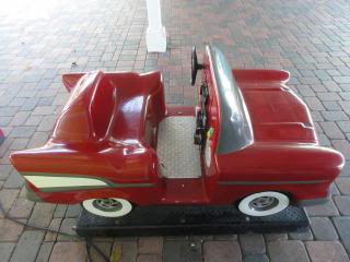 coin operated toy car ride for young children