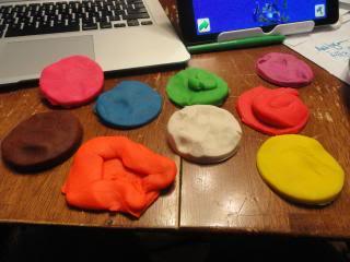 playdough pancakes